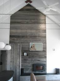 vaulted ceiling accent wall
