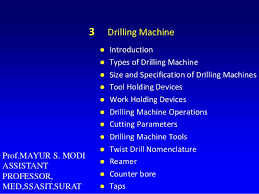 3 Drilling Machine