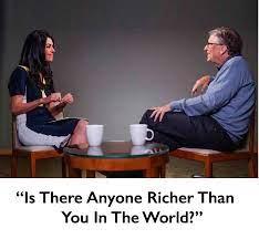 Sarcasm - An Interviewer Asked Bill Gates....