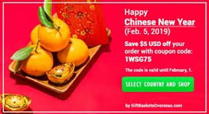 8 off with promo code for gift baskets overseas