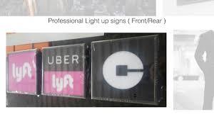 Uber Lyft Light Up Sign Rideshare Night N Day Box Uber Lyft Light Up Sign Youtube