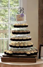 How To Display Cupcakes Without A Stand Delectable Cupcake Tower The Couture Cakery
