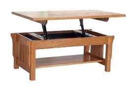 oak lift top coffee table tables open with counter weight nelson international concepts ay solid wood