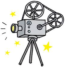 Cartoon Film Cartoon Movie Camera Clipart