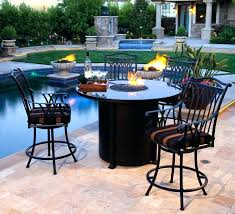 patio dining set with fire pit fire pit dining table set beautiful fire pit patio table