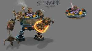 dota 2 timbersaw s set concept art by trungth on deviantart
