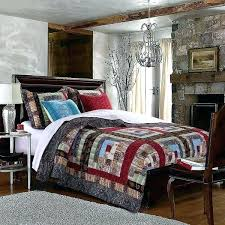 blue rustic patchwork quilts bedding incredible classic bedroom with navy comforter sets queen decor king size