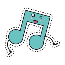 Hasil gambar untuk music kawaii