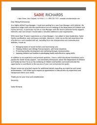 8 Cover Letter For Case Manager Job Apply Letter