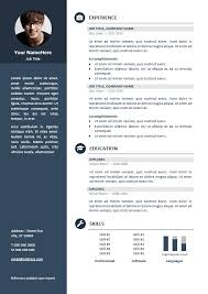 pro cv template orienta free professional resume cv template blue resume cv