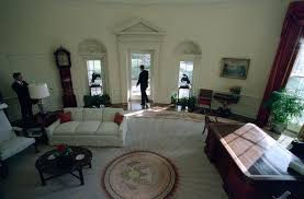 reagan oval office. C51655-10, President Reagan Leaving The Oval Office For Last Time. 1/20/89. S