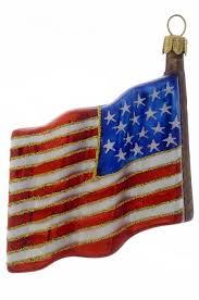 Christbaumschmuck Aus Glas Amerikanische Flagge Usa