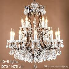 maria crystal chandelier lamps led bulb lights large crystal lamp rustic loft industrial lighting modern minimalist hampton bay maria theresa 6 light