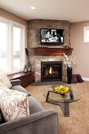 living room decor with corner fireplace. living room:corner fireplace decor ideas tv placement room decorating rooms with corner r