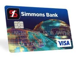 simmons bank. simmons bank credit card