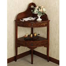 small corner accent tables pedestal console table entryway coffee teak side very slim hall with drawers round foyer oak telephone modern narrow entry