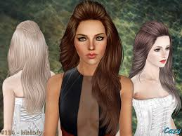 Cazy's Melody Hairstyle - Set