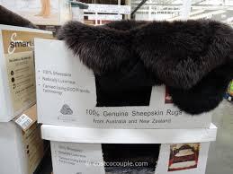 quad genuine sheepskin area rug costco 2