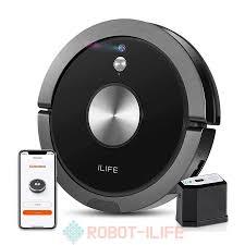 Robot hút bụi ILIFE A9 với cảm biến giác quan cao cấp - Robot iLife