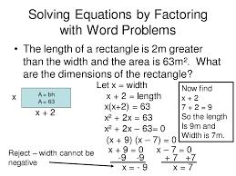 worksheet quadratic formula word problems luizah
