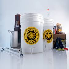 brew share enjoy homebrew 5 gallon beer brewing starter kit with chinook ipa