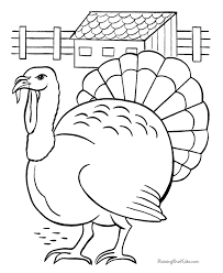 Small Picture Turkey Coloring Page