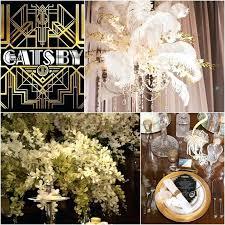 great gatsby wedding decor the great wedding decor theme photo by diy great gatsby wedding centerpieces