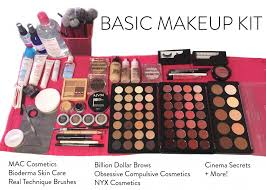 cosmetic brands included mac cosmetics graftobian cinema secrets morphe brushes nyx cosmetics bioderma real techniques billion dollar brows
