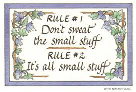 Don T Sweat The Small Stuff Quotes Amazing Don't Sweat The Small Stuffor Dirt Kid 48