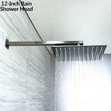 moen shower systems brushed nickel brushed nickel rain shower heads
