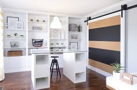 contemporary home office sliding barn. Home Offices With Sliding Barn Doors. Give The Classic Door A Cool Contemporary Twist Office S