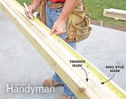 how to frame a garage doorFraming a Garage  Family Handyman