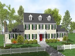 exterior colonial house design. Exterior Colonial House Design
