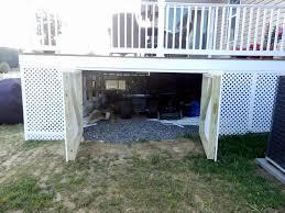 Deck Designs With Storage Underneath Storage Under Deck Porch Storage Building A Deck Under Decks