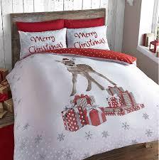 Christmas Deer Duvet Set