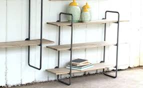 whitewashed shelves wood and metal shelves why wood and metal wall shelves are the ultimate choice