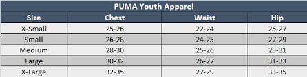 Puma Size Chart Sale Up To 44 Discounts