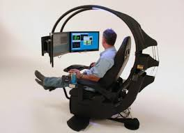 funny office chairs. a very high tech office chair funny chairs the web awards