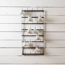 wall mounted mug rack 69 with wall mounted mug rack