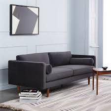 Go Modern Furniture Miami Fascinating Monroe MidCentury Sofa 48 West Elm