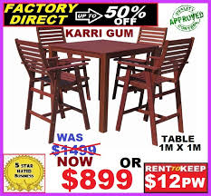 bar table and chairs. New Outdoor Dining Suite Bar Table And Chairs