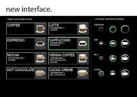 Vending Machine Interface Adorable User Interface Coffee Vending Machine Redesign On Behance Coffee