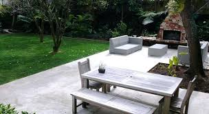 modern concrete patio. Modern Concrete Patio Project Contemporary Cost . Designs Pavers