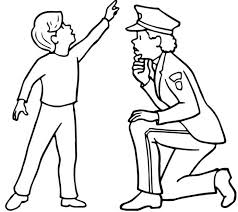 Happy Police Officer Coloring Pages Cool Galle 4504 Unknown