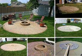 Plain Patio Designs With Fire Pit And 27 Hottest Ideas To Creativity Design