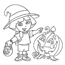 Small Picture Halloween Coloring Pages Free Printables MomJunction