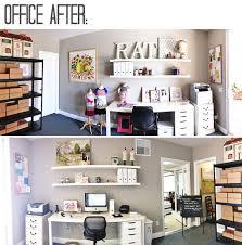 office make over. Office Makeover Re-decorating AFTER Via Lilblueboo.com #decor #office #diy Make Over I