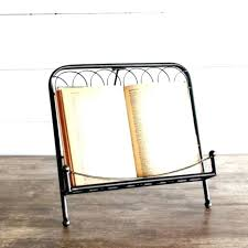 recipe book holder decorative metal target stand stands australia bamboo acrylic
