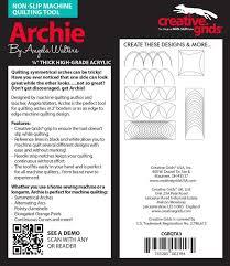 Creative Machine Designs Inc Buy Creative Grids Machine Quilting Tool Ruler Template