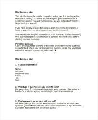 Basic Business Plan Template Free 28 Simple Business Plan Examples In Pdf Word Pages